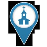 Marqueur Eglise